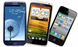 iphone4sgalaxysIIIhtconex