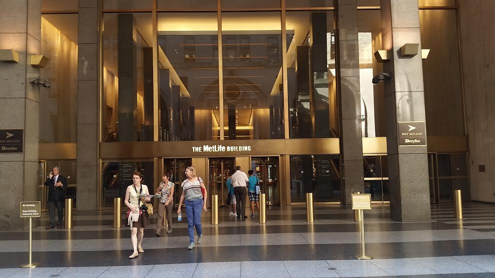 Metlife Building  Park Ave New York Ny